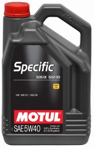 Motul Specific VW 505.01-502.00-505.00 5W40 5L
