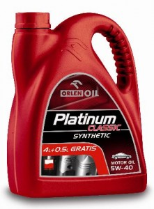 Orlen Platinum Classic Synthetic 5W40 4,5L