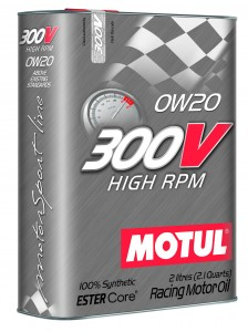Motul 300V High RPM 0W20 2L