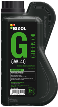 Bizol Green Oil 5W40 1L.png